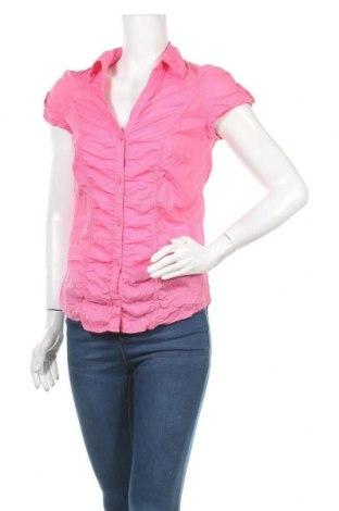 Γυναικείο πουκάμισο Colours Of The World, Μέγεθος S, Χρώμα Ρόζ , Βαμβάκι, Τιμή 9,94€