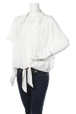 Γυναικείο πουκάμισο Cotton On, Μέγεθος XL, Χρώμα Λευκό, Βισκόζη, Τιμή 22,73€