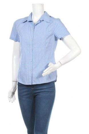 Γυναικείο πουκάμισο Crane, Μέγεθος S, Χρώμα Μπλέ, 50% πολυεστέρας, 30% βισκόζη, 20% βαμβάκι, Τιμή 11,04€