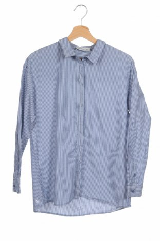 Γυναικείο πουκάμισο Denim Hunter, Μέγεθος XS, Χρώμα Μπλέ, 62% βαμβάκι, 38% βαμβάκι, Τιμή 8,02€
