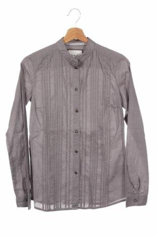 Γυναικείο πουκάμισο Esprit, Μέγεθος XS, Χρώμα Γκρί, Βαμβάκι, Τιμή 3,51€