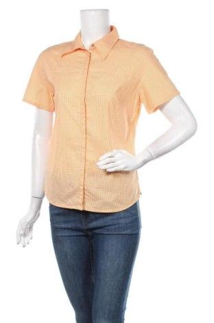 Γυναικείο πουκάμισο Essentiel, Μέγεθος L, Χρώμα Πορτοκαλί, 97% βαμβάκι, 3% ελαστάνη, Τιμή 16,56€