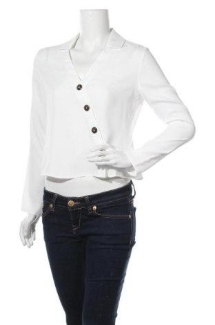 Дамска риза Even&Odd, Размер XS, Цвят Бял, Полиестер, Цена 31,28лв.