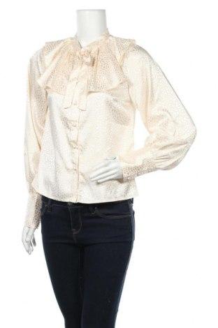 Γυναικείο πουκάμισο Fashion Union, Μέγεθος M, Χρώμα  Μπέζ, 95% πολυεστέρας, 5% ελαστάνη, Τιμή 14,76€