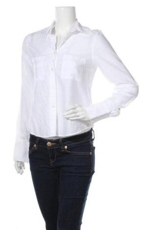 Дамска риза Filippa K, Размер S, Цвят Бял, 85% лиосел, 15% полиамид, Цена 109,00лв.