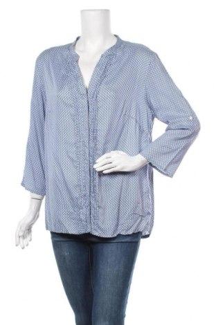 Γυναικείο πουκάμισο Flg, Μέγεθος XL, Χρώμα Μπλέ, Βαμβάκι, Τιμή 4,32€