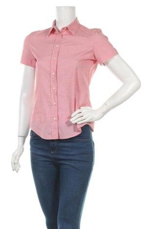 Дамска риза Gant, Размер S, Цвят Червен, 97% памук, 3% еластан, Цена 33,92лв.