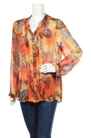 Γυναικείο πουκάμισο Gina Laura, Μέγεθος XL, Χρώμα Πολύχρωμο, Πολυεστέρας, Τιμή 4,68€