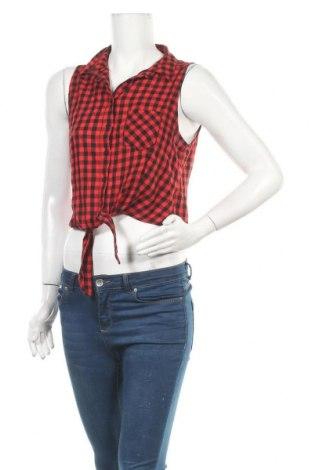 Γυναικείο πουκάμισο H&M Divided, Μέγεθος M, Χρώμα Κόκκινο, Βαμβάκι, Τιμή 4,68€