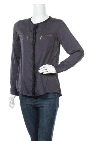 Γυναικείο πουκάμισο IX-O, Μέγεθος M, Χρώμα Γκρί, 100% βισκόζη, Τιμή 9,38€