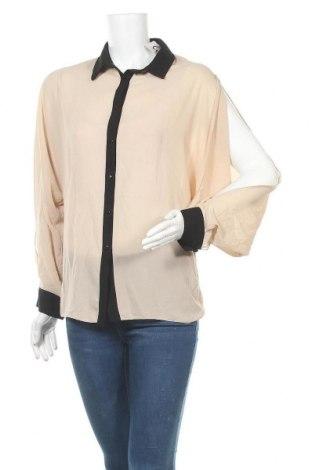 Γυναικείο πουκάμισο Imperial, Μέγεθος M, Χρώμα  Μπέζ, Πολυεστέρας, Τιμή 9,87€