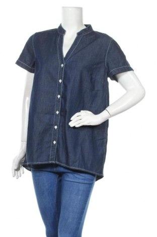 Γυναικείο πουκάμισο John Baner, Μέγεθος M, Χρώμα Μπλέ, Βαμβάκι, Τιμή 4,09€