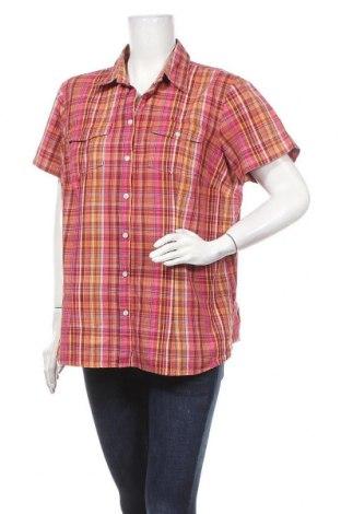Γυναικείο πουκάμισο John Baner, Μέγεθος XXL, Χρώμα Πολύχρωμο, Βαμβάκι, Τιμή 4,16€