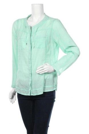 Γυναικείο πουκάμισο Kenny S., Μέγεθος M, Χρώμα Πράσινο, Βαμβάκι, Τιμή 9,94€