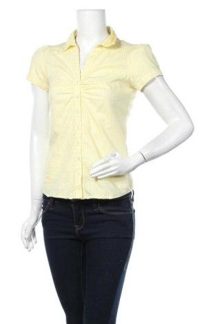 Γυναικείο πουκάμισο Kenvelo, Μέγεθος S, Χρώμα Κίτρινο, 67% βαμβάκι, 31% πολυαμίδη, 2% ελαστάνη, Τιμή 9,26€