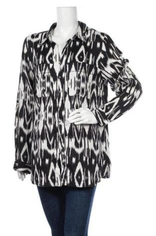 Дамска риза Maddison, Размер XL, Цвят Черен, Лен, Цена 19,95лв.