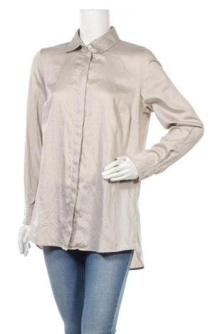 Γυναικείο πουκάμισο Madeleine, Μέγεθος L, Χρώμα  Μπέζ, Βαμβάκι, Τιμή 14,48€