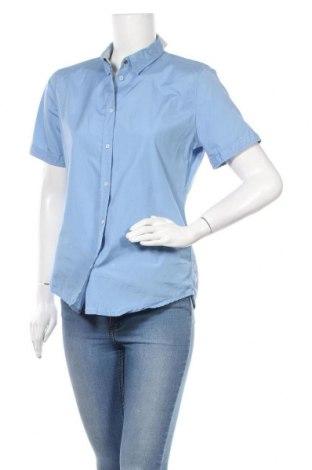Γυναικείο πουκάμισο Marc O'Polo, Μέγεθος M, Χρώμα Μπλέ, Βαμβάκι, Τιμή 23,38€