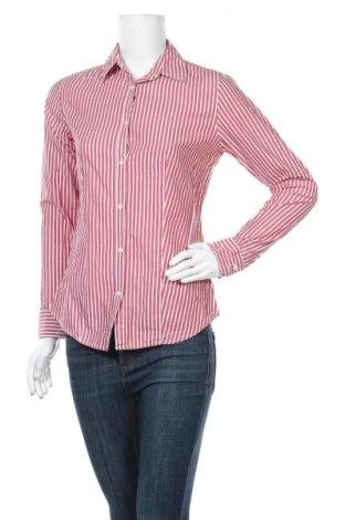 Дамска риза Marco Pecci, Размер S, Цвят Червен, Памук, Цена 17,85лв.