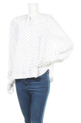 Γυναικείο πουκάμισο Mbym, Μέγεθος S, Χρώμα Λευκό, Βαμβάκι, Τιμή 21,58€