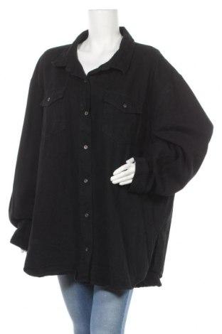 Дамска риза Missguided, Размер 3XL, Цвят Черен, Памук, Цена 42,00лв.