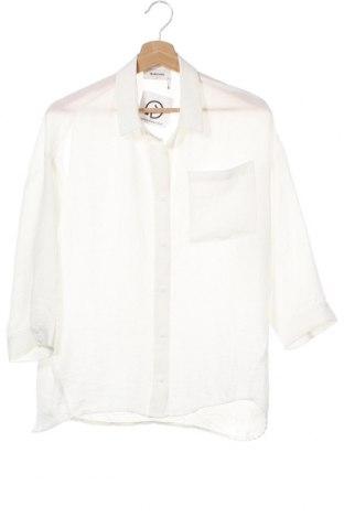 Γυναικείο πουκάμισο Modstrom, Μέγεθος XS, Χρώμα Λευκό, Πολυεστέρας, Τιμή 25,23€