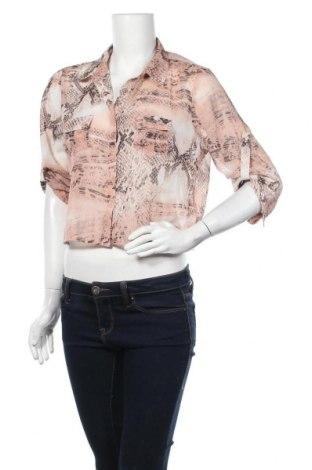 Γυναικείο πουκάμισο Moodo, Μέγεθος L, Χρώμα Πολύχρωμο, Πολυεστέρας, Τιμή 8,31€