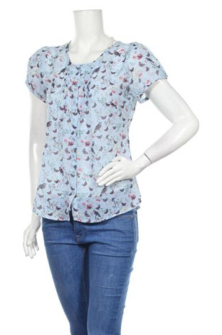 Γυναικείο πουκάμισο Multiblu, Μέγεθος S, Χρώμα Μπλέ, Πολυεστέρας, Τιμή 9,94€