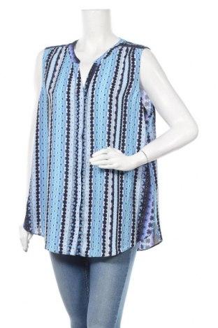 Дамска риза NYDJ, Размер XL, Цвят Син, Полиестер, Цена 7,88лв.