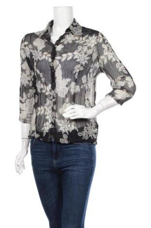 Дамска риза Nadia Nardi, Размер M, Цвят Черен, Полиестер, Цена 5,36лв.