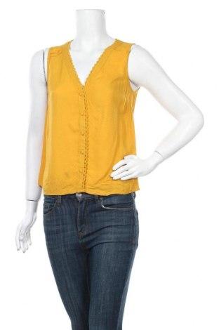 Γυναικείο πουκάμισο Naf Naf, Μέγεθος S, Χρώμα Κίτρινο, Βισκόζη, Τιμή 8,31€