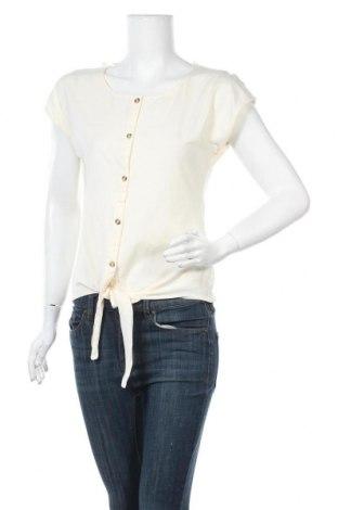 Γυναικείο πουκάμισο Orsay, Μέγεθος M, Χρώμα Εκρού, 100% βαμβάκι, Τιμή 10,49€