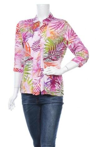 Дамска риза Paola, Размер M, Цвят Многоцветен, Вискоза, Цена 5,19лв.