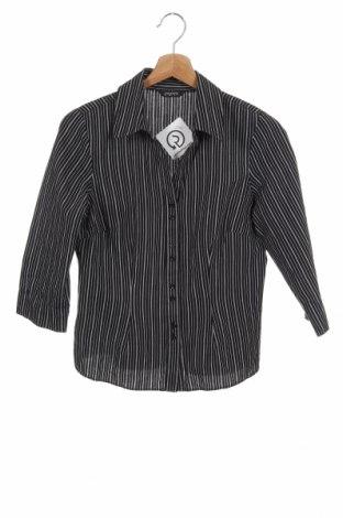 Γυναικείο πουκάμισο Papaya, Μέγεθος M, Χρώμα Μαύρο, 55% βαμβάκι, 45% πολυεστέρας, Τιμή 4,09€
