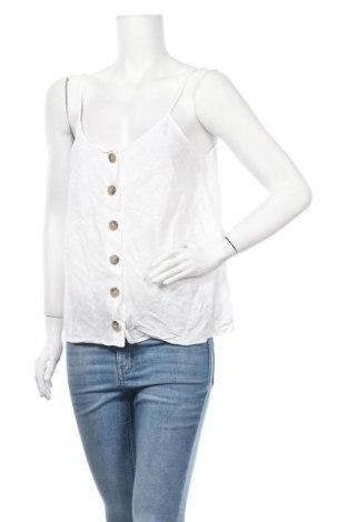 Γυναικείο πουκάμισο Promod, Μέγεθος L, Χρώμα Λευκό, Τιμή 8,64€
