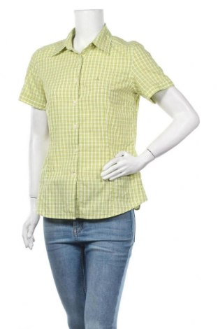 Γυναικείο πουκάμισο Schoffel, Μέγεθος M, Χρώμα Πράσινο, 65% πολυεστέρας, 35% βαμβάκι, Τιμή 8,18€
