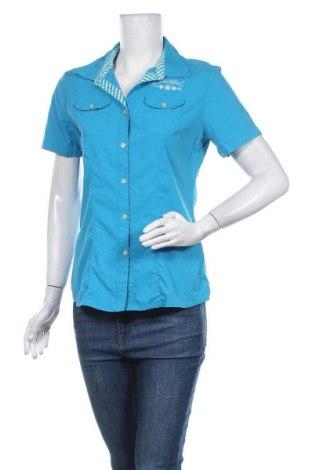 Γυναικείο πουκάμισο Schoffel, Μέγεθος M, Χρώμα Μπλέ, 93% πολυαμίδη, 7% ελαστάνη, Τιμή 18,77€