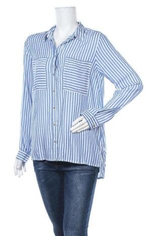 Γυναικείο πουκάμισο Springfield, Μέγεθος L, Χρώμα Μπλέ, 100% βισκόζη, Τιμή 11,97€