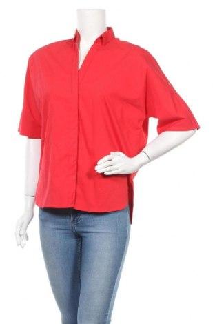 Γυναικείο πουκάμισο Steffen Schraut, Μέγεθος S, Χρώμα Κόκκινο, 60% βαμβάκι, 35% πολυεστέρας, 5% ελαστάνη, Τιμή 14,30€
