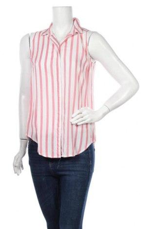 Γυναικείο πουκάμισο Stradivarius, Μέγεθος M, Χρώμα Κόκκινο, Βισκόζη, Τιμή 11,04€