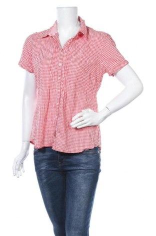 Дамска риза Street One, Размер L, Цвят Червен, 66% памук, 15% полиамид, 15% полиестер, 4% еластан, Цена 16,96лв.