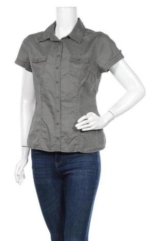 Дамска риза Street One, Размер M, Цвят Сив, Памук, Цена 15,96лв.