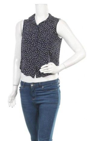 Γυναικείο πουκάμισο Tally Weijl, Μέγεθος M, Χρώμα Μπλέ, Βισκόζη, Τιμή 11,04€