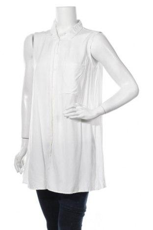 Γυναικείο πουκάμισο Terranova, Μέγεθος XL, Χρώμα Λευκό, Βισκόζη, Τιμή 9,87€