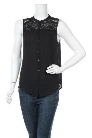 Γυναικείο πουκάμισο Terranova, Μέγεθος M, Χρώμα Μαύρο, Πολυεστέρας, Τιμή 11,04€