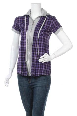 Γυναικείο πουκάμισο Vert De Rage, Μέγεθος M, Χρώμα Βιολετί, Βαμβάκι, Τιμή 5,72€