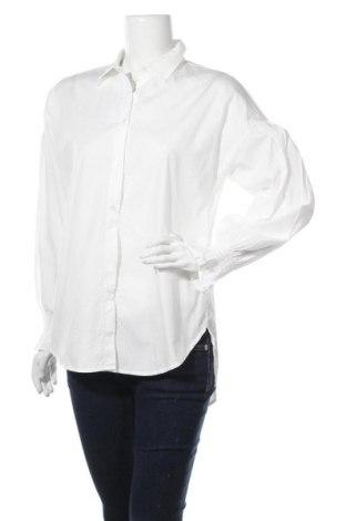 Дамска риза Vila, Размер M, Цвят Бял, Памук, Цена 54,00лв.