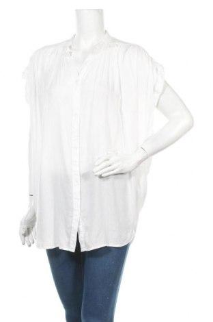 Γυναικείο πουκάμισο Vrs Woman, Μέγεθος M, Χρώμα Λευκό, Βισκόζη, Τιμή 9,94€