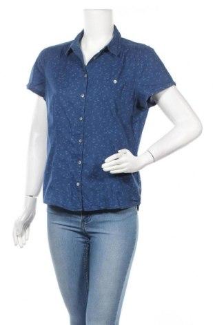 Γυναικείο πουκάμισο Yessica, Μέγεθος M, Χρώμα Μπλέ, Βαμβάκι, Τιμή 12,34€