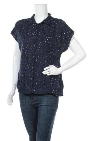 Γυναικείο πουκάμισο Yessica, Μέγεθος L, Χρώμα Μπλέ, Βαμβάκι, Τιμή 11,04€